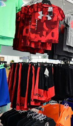 Men and Boys Under Armour at Reynold's Clothing